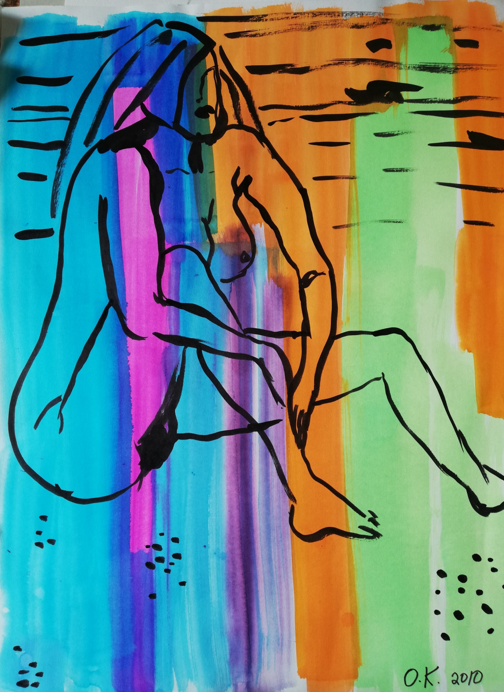 Olga Grig. Girl nude