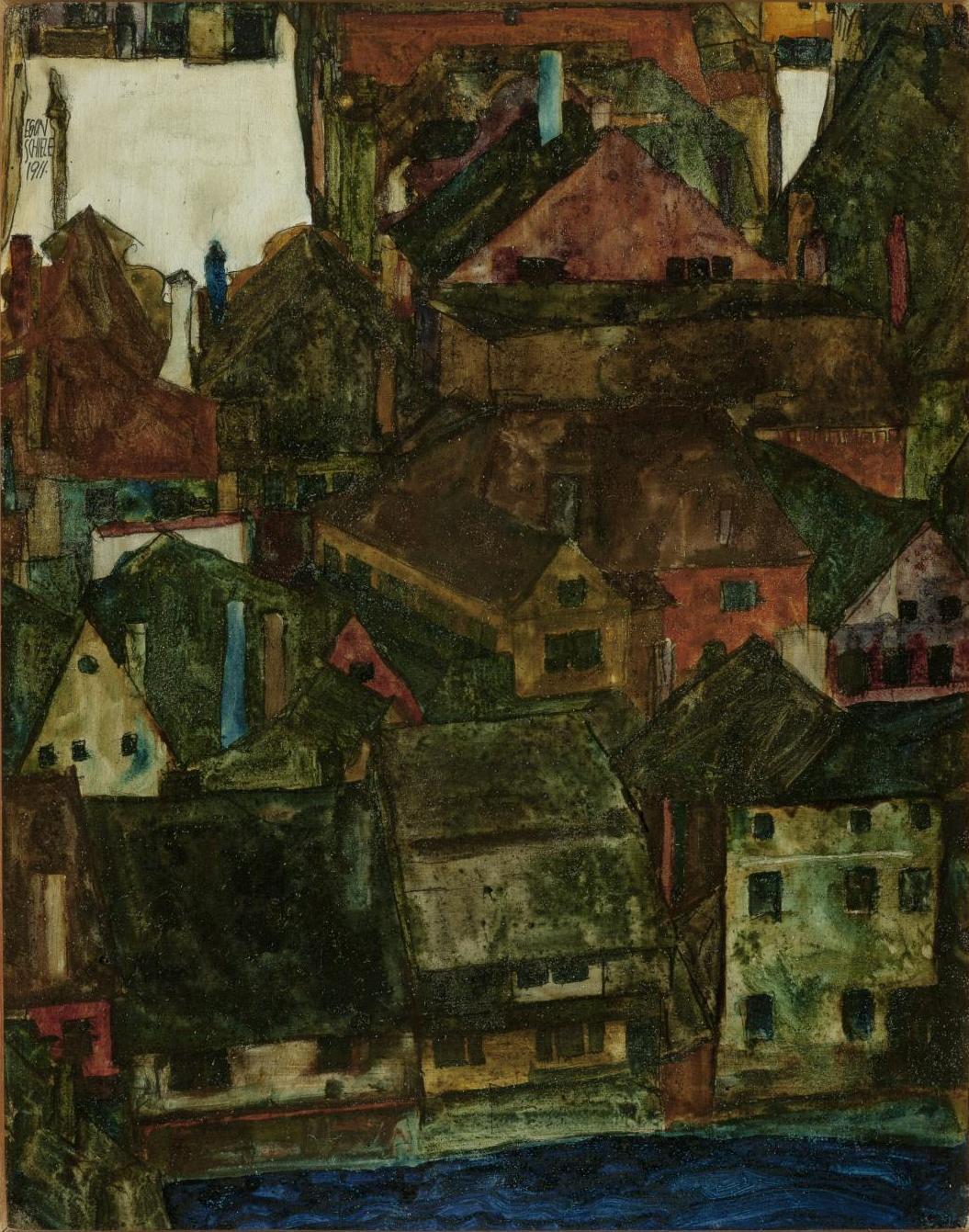 Egon Schiele. Mrtvé město (Český Krumlov)