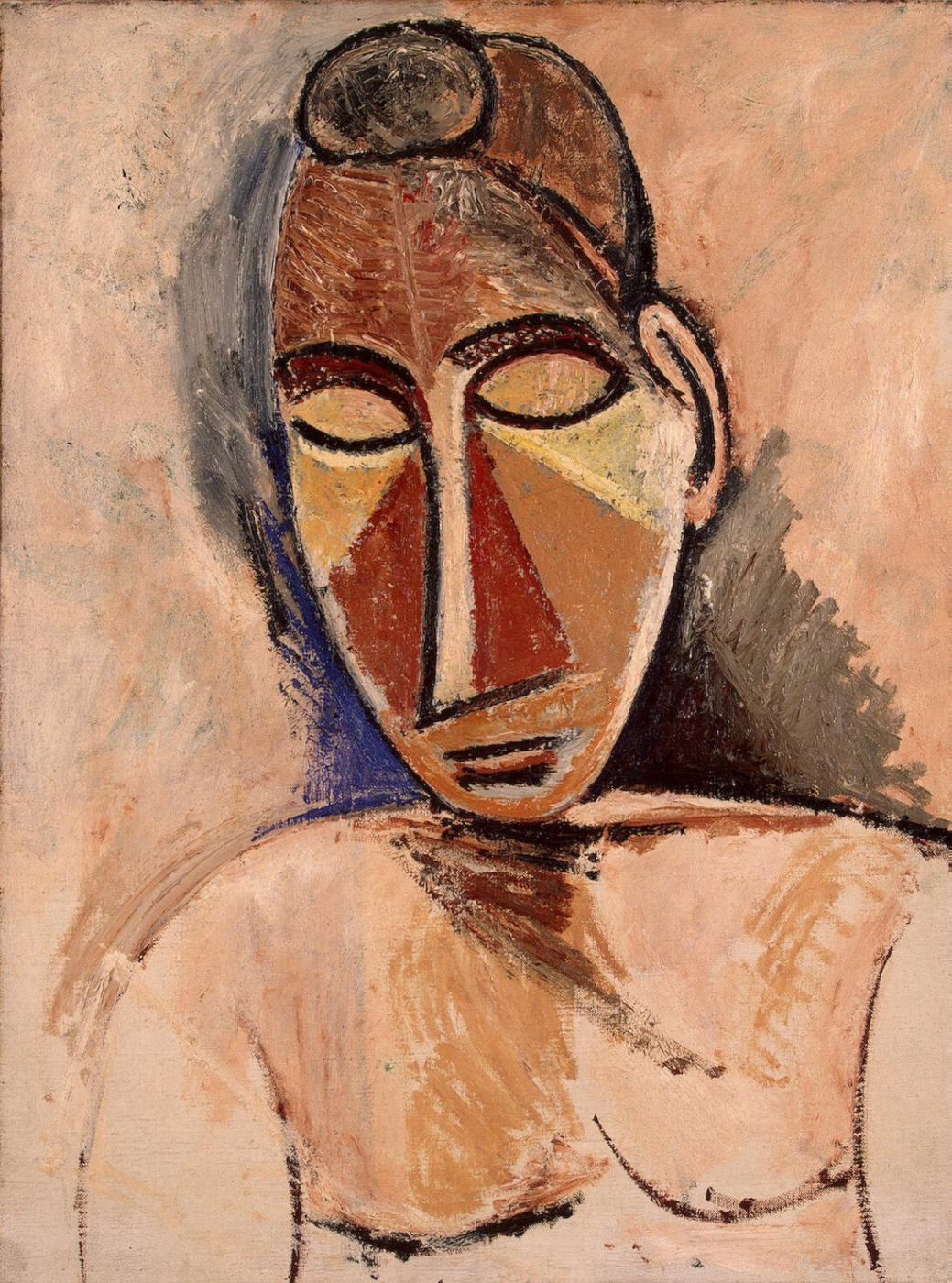 Pablo Picasso. Nude woman