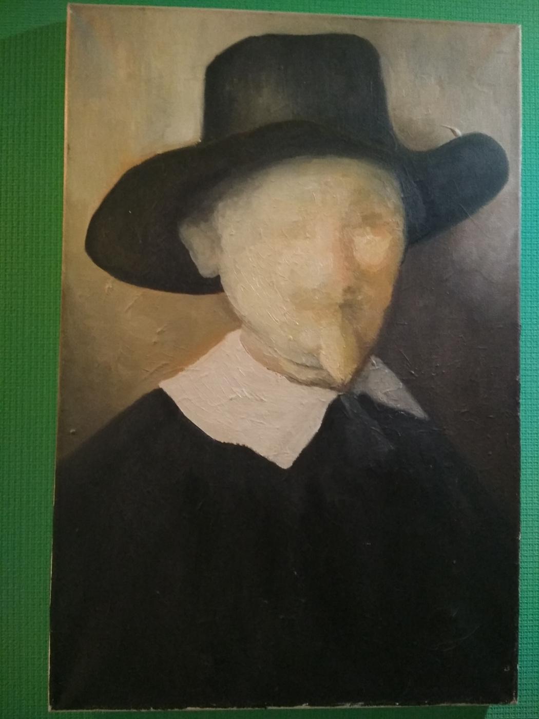 Unknown artist. Pasteur the Faceless