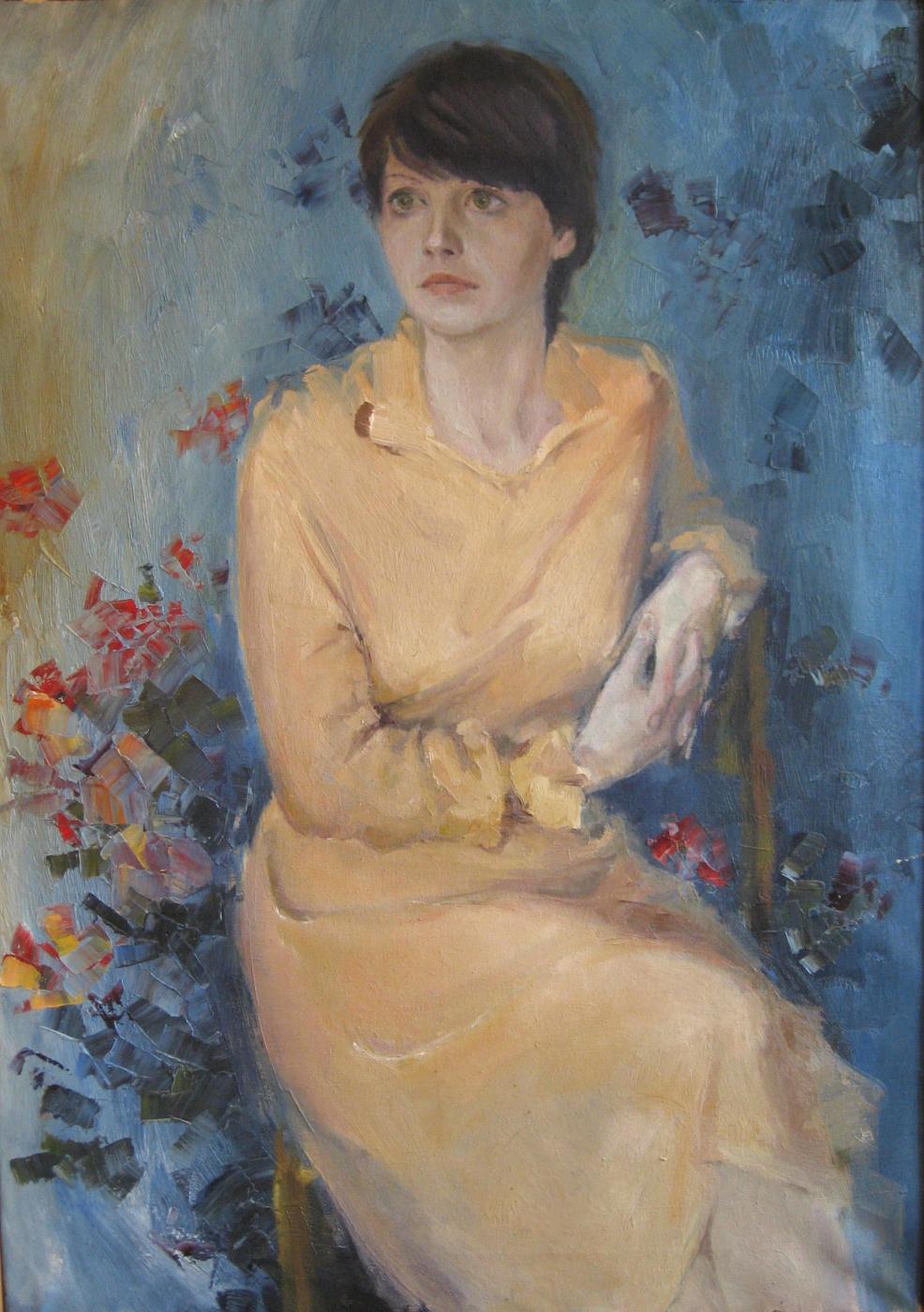 Александр Викторович Беляков. The girl on blue