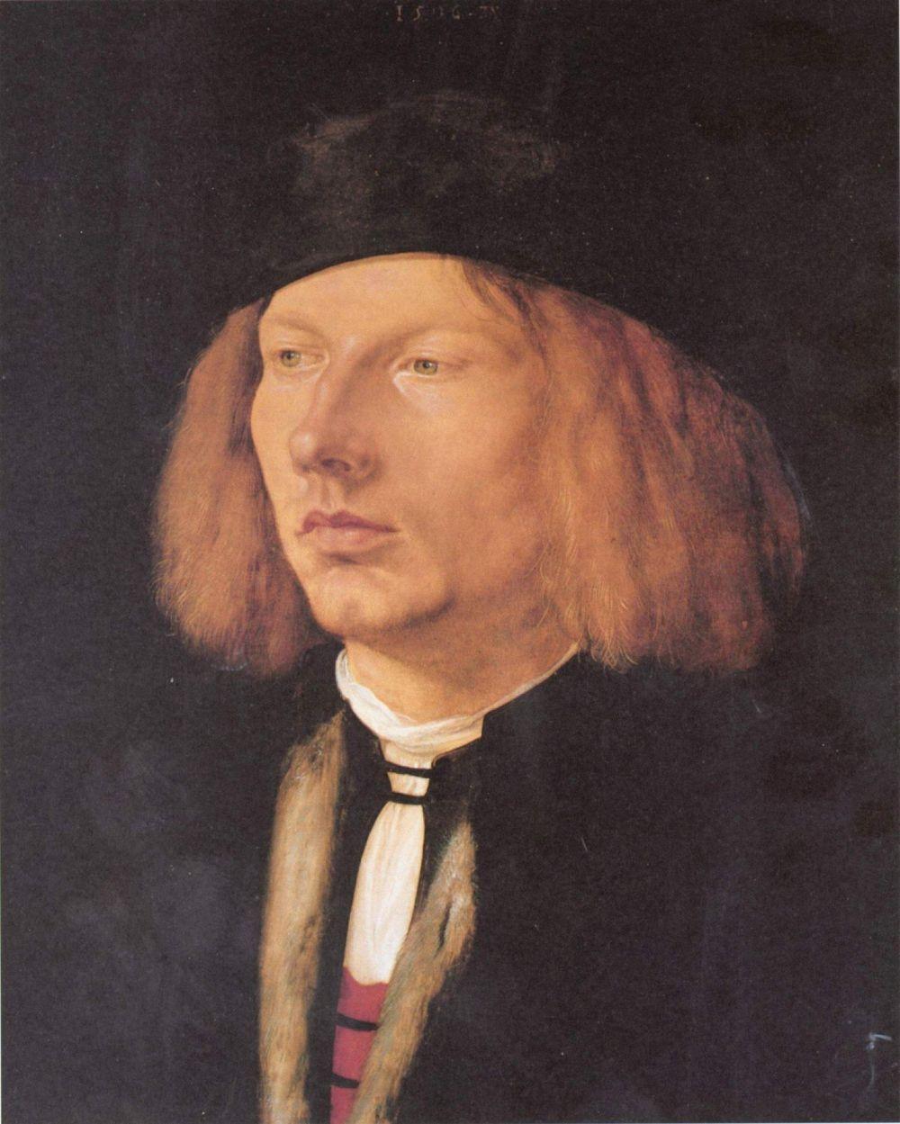 Albrecht Durer. Portrait of Burkard von Speyer