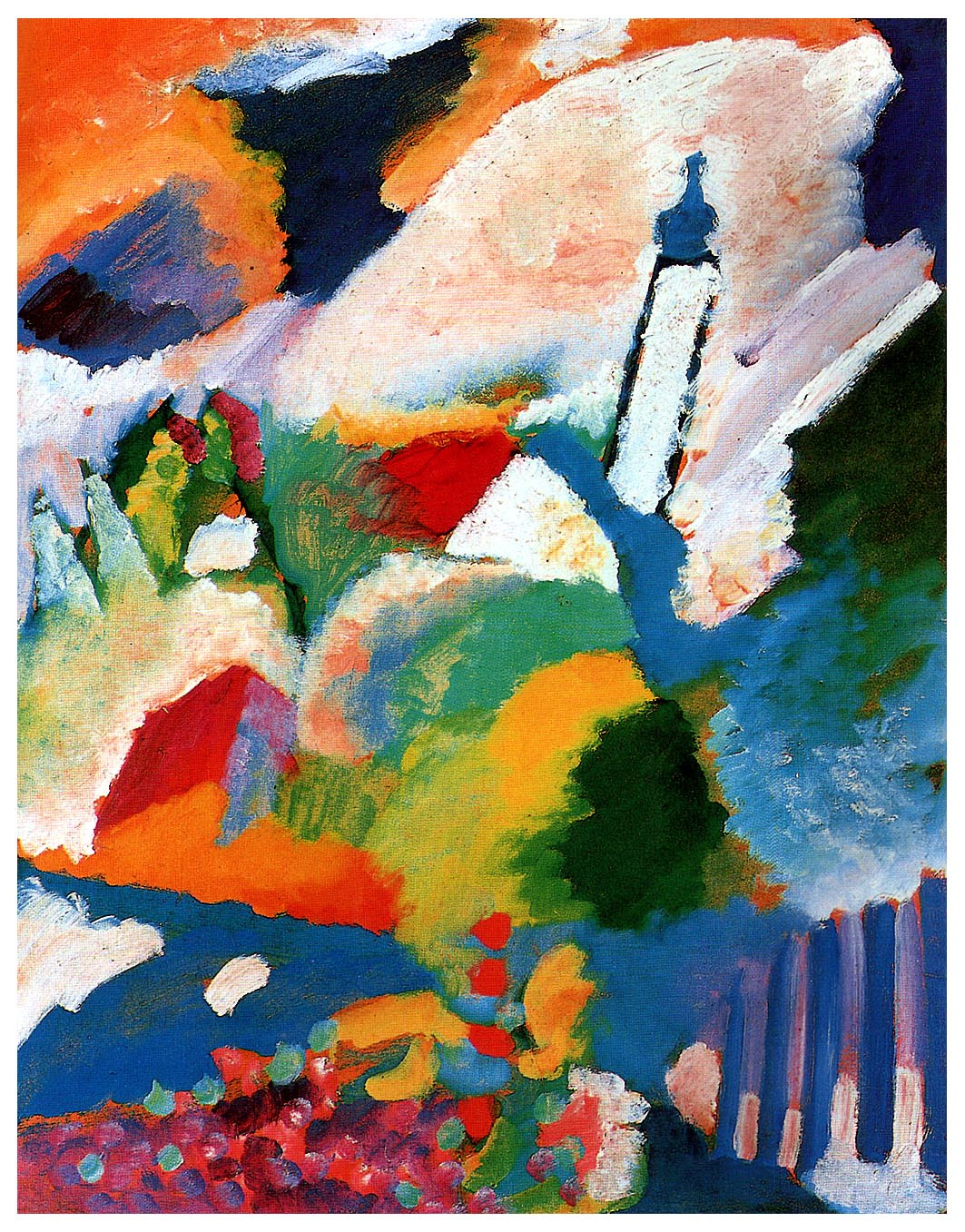Wassily Kandinsky. The Church in Murnau