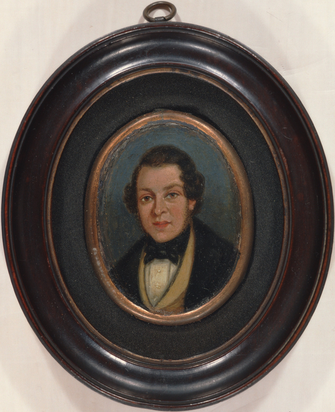 John Constable. Miniature: portrait of Abram constable, brother of the artist
