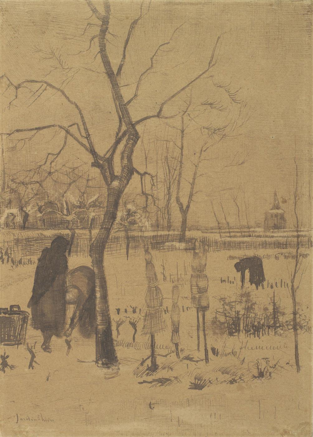Vincent van Gogh. Winter garden