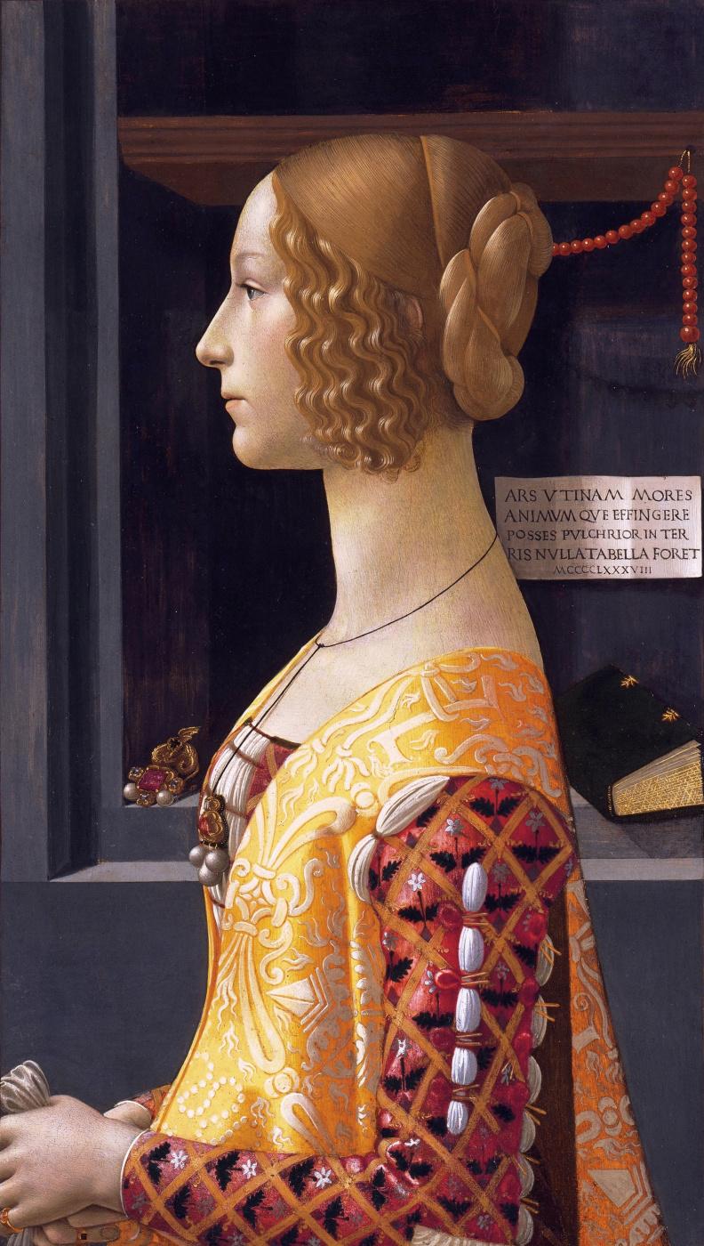 Доменико Гирландайо. Портрет Джованны Торнабуони