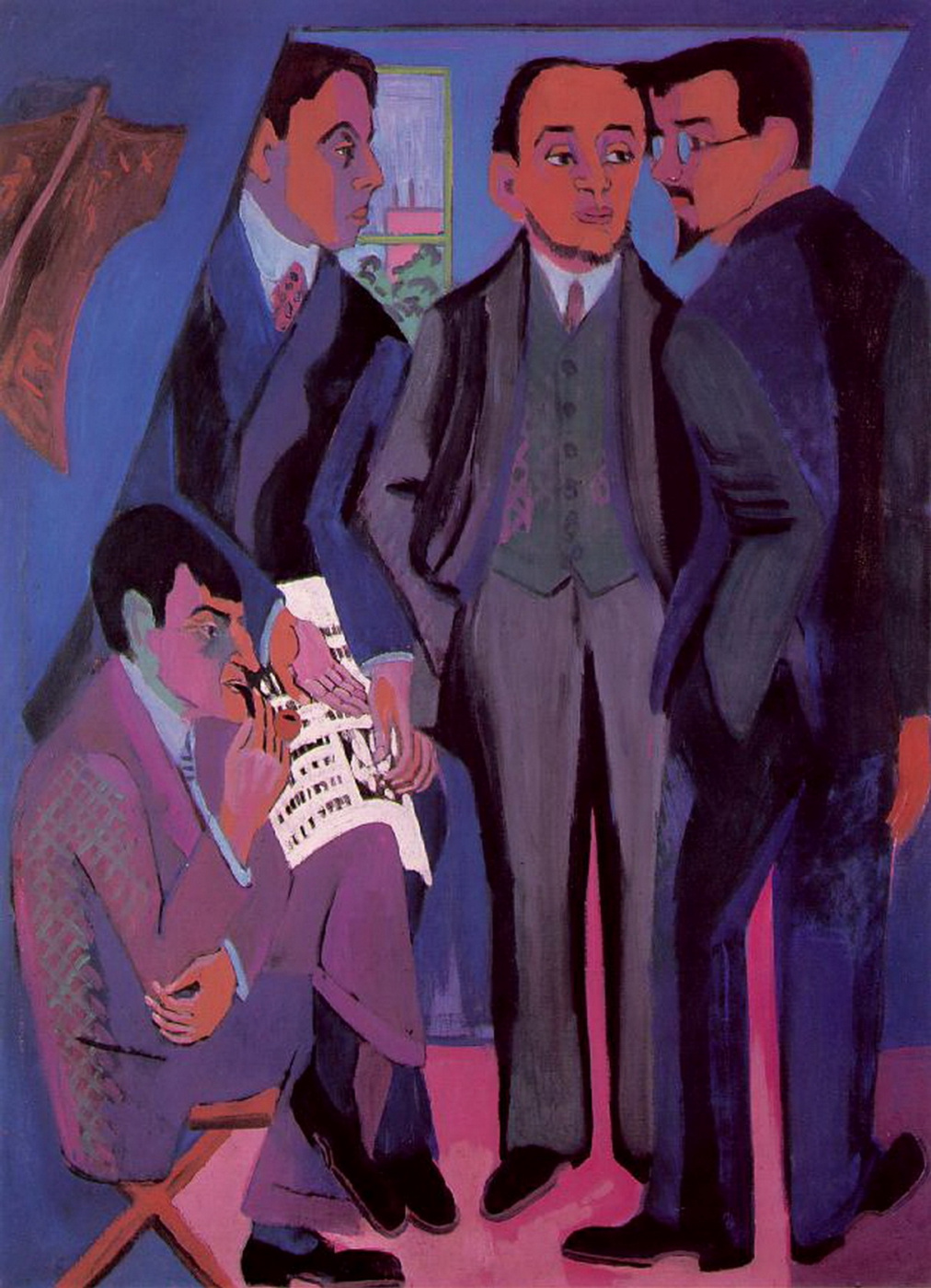 Ernst Ludwig Kirchner. Artists