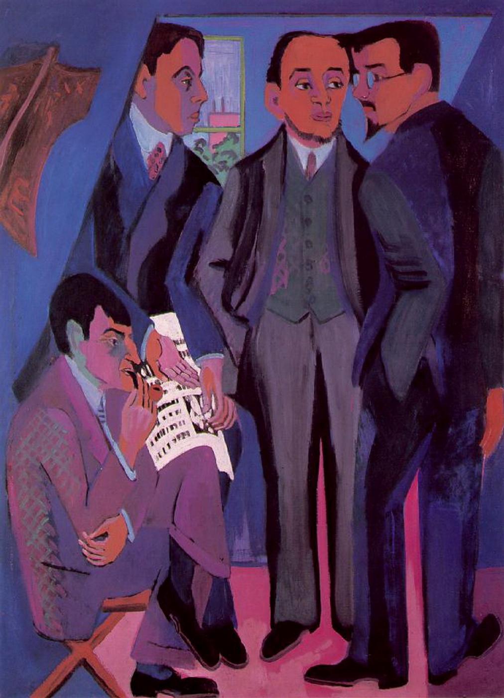 Ernst Ludwig Kirchner. Artists