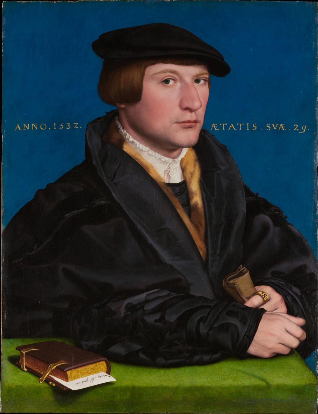 Hans Holbein the Younger. Portrait of a member of the Vedig family (Hermann Vedig?)