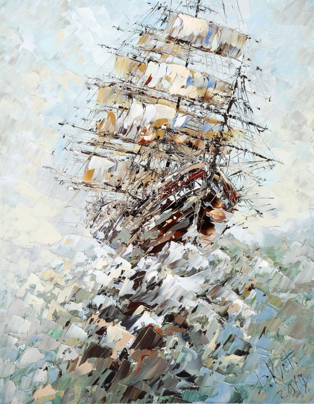 Дмитрий Александрович Кустанович. Ветер надежды
