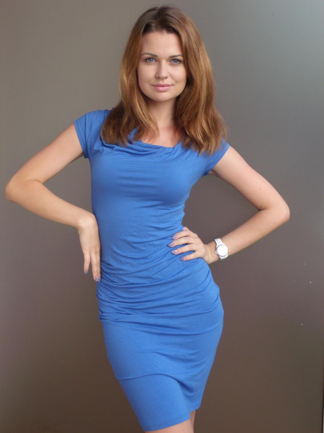 "Alexey Grishankov (Alegri). ""Лаура в голубом платье"""