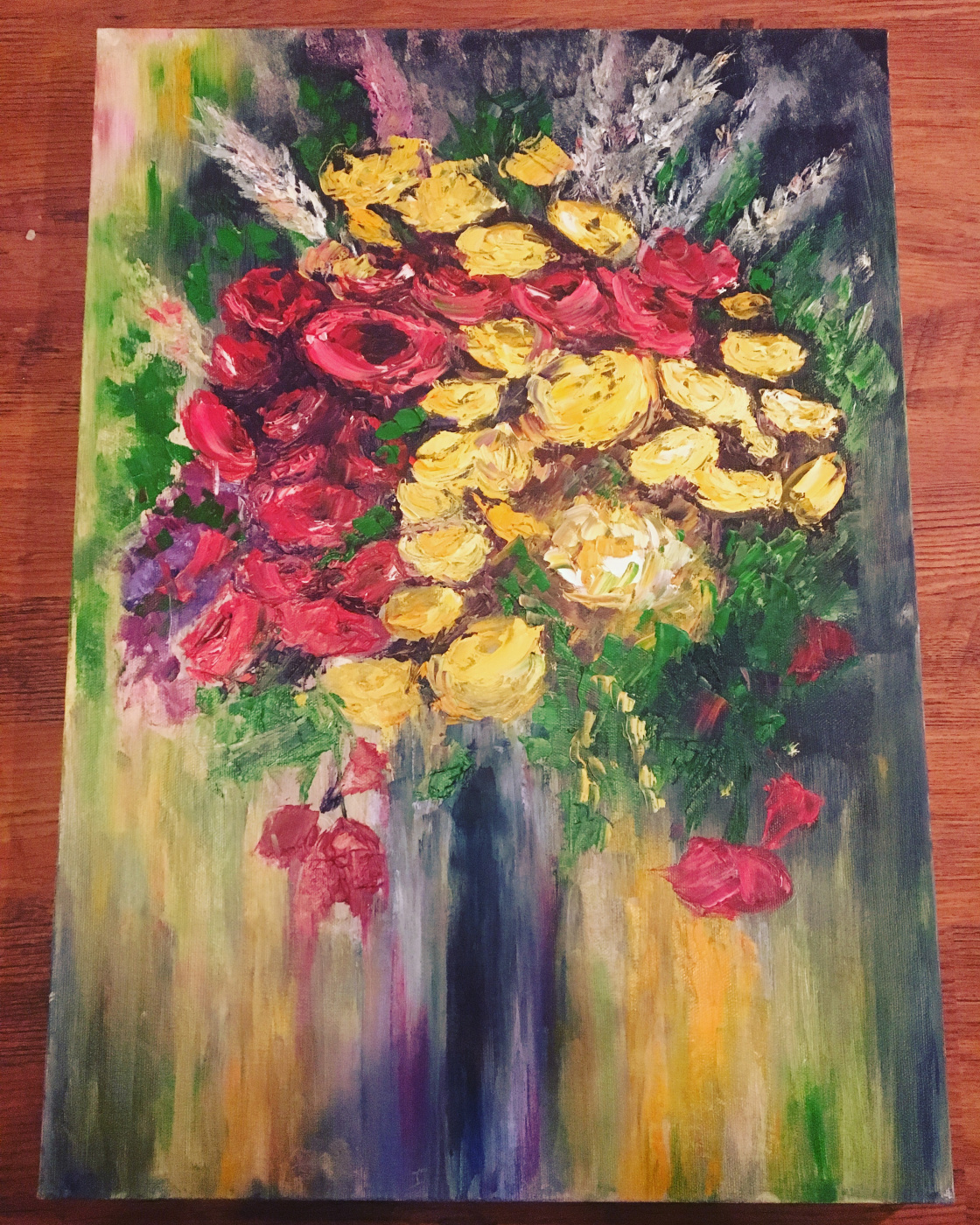 Victoria Makhmudova. Roses