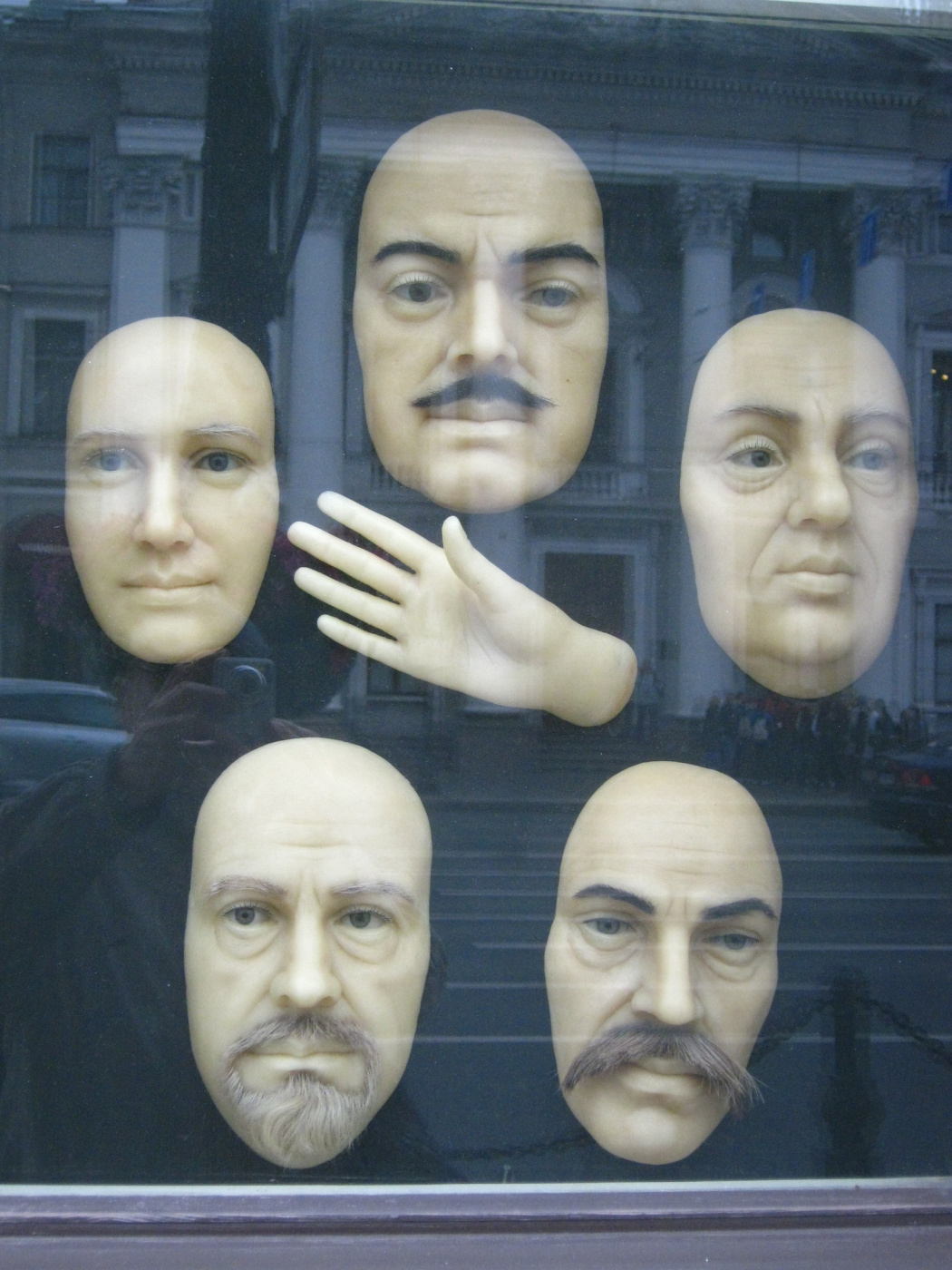 "Alexey Grishankov (Alegri). ""Behind the glass"""