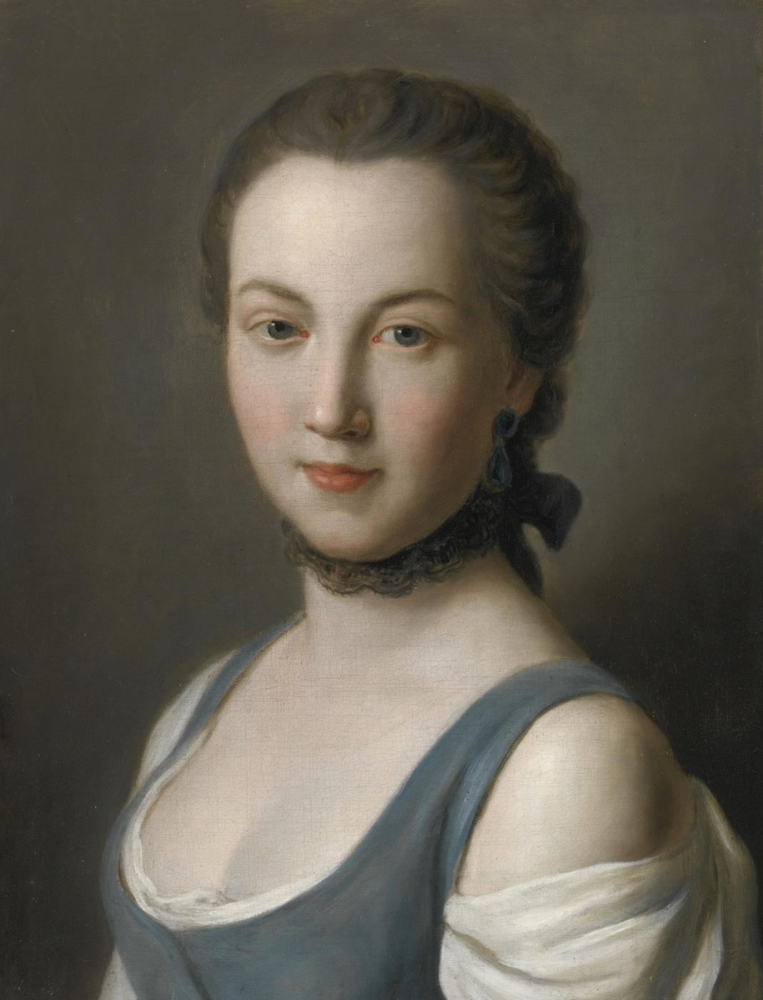 Pietro Rotary. Портрет молодой дамы