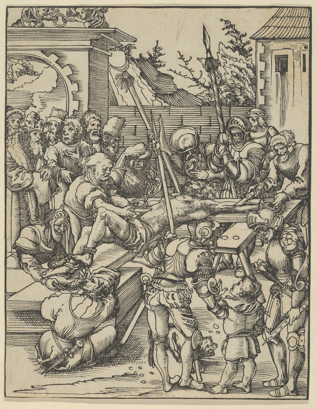 Lucas Cranach the Elder. The martyrdom of St. Philip