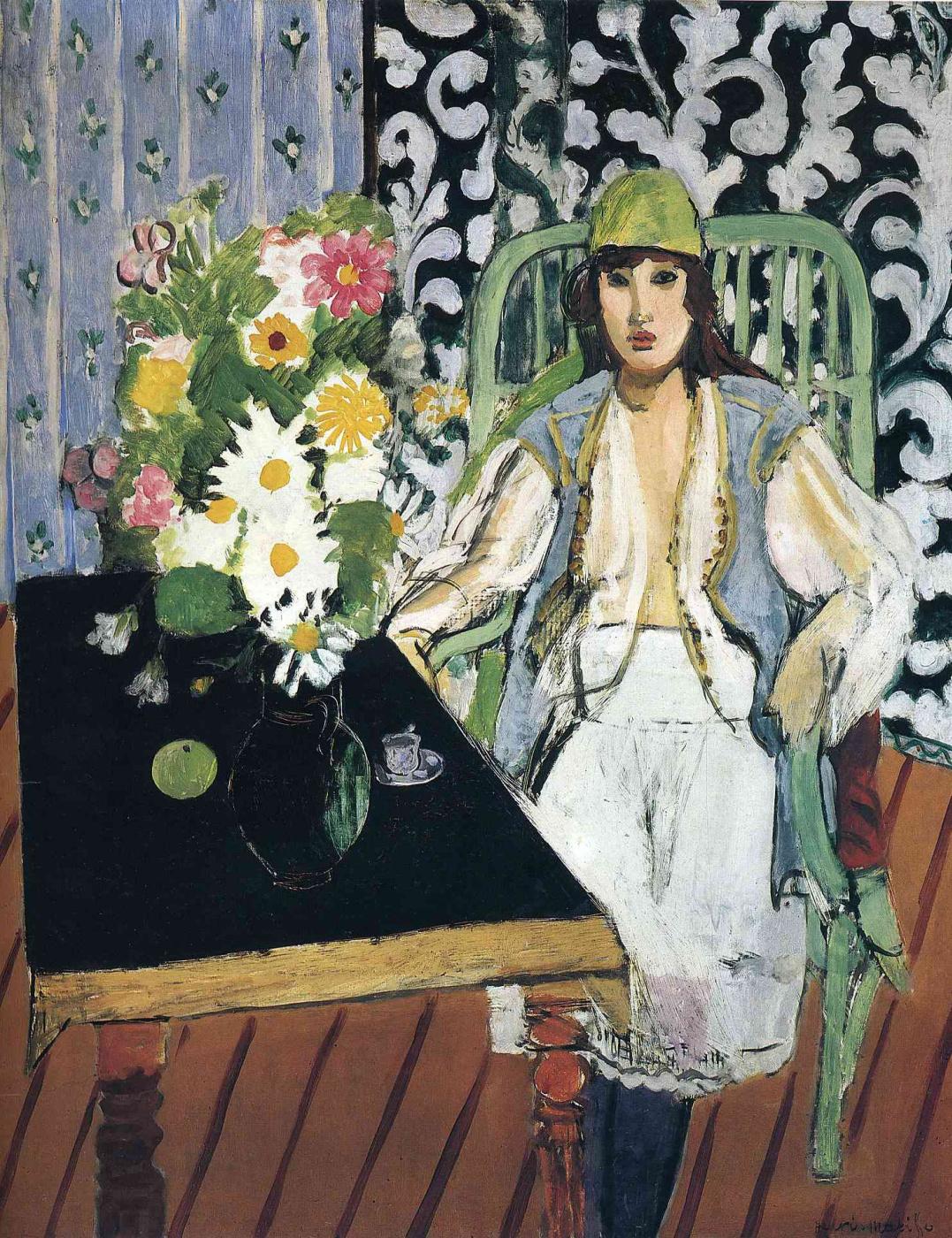 Henri Matisse. Black Desk