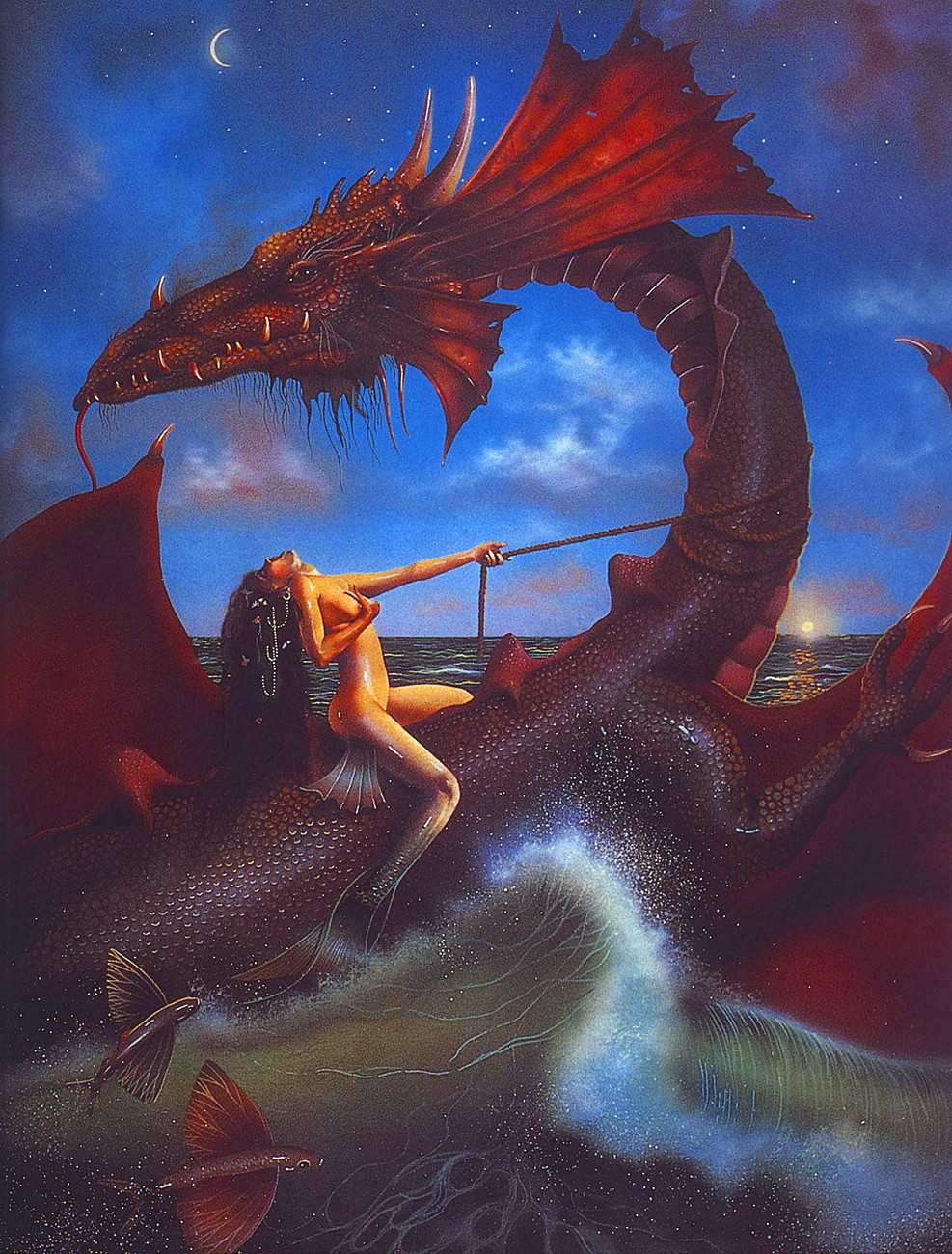 David Delamar. Return of the dragon