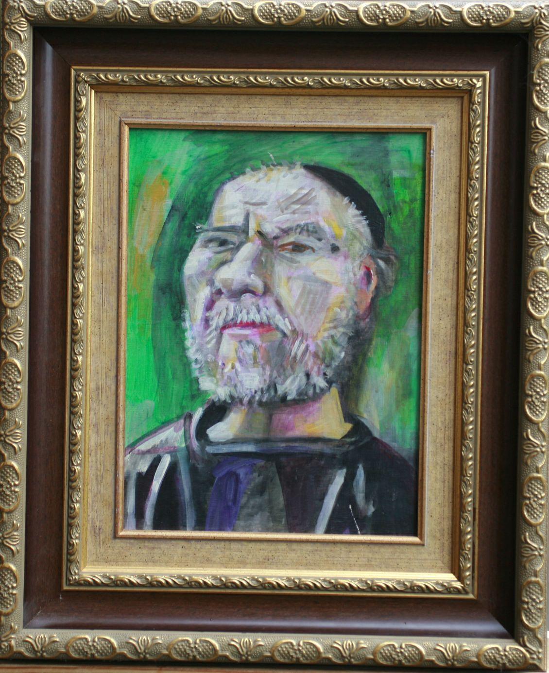 M. Brusilovsky. Self-portrait