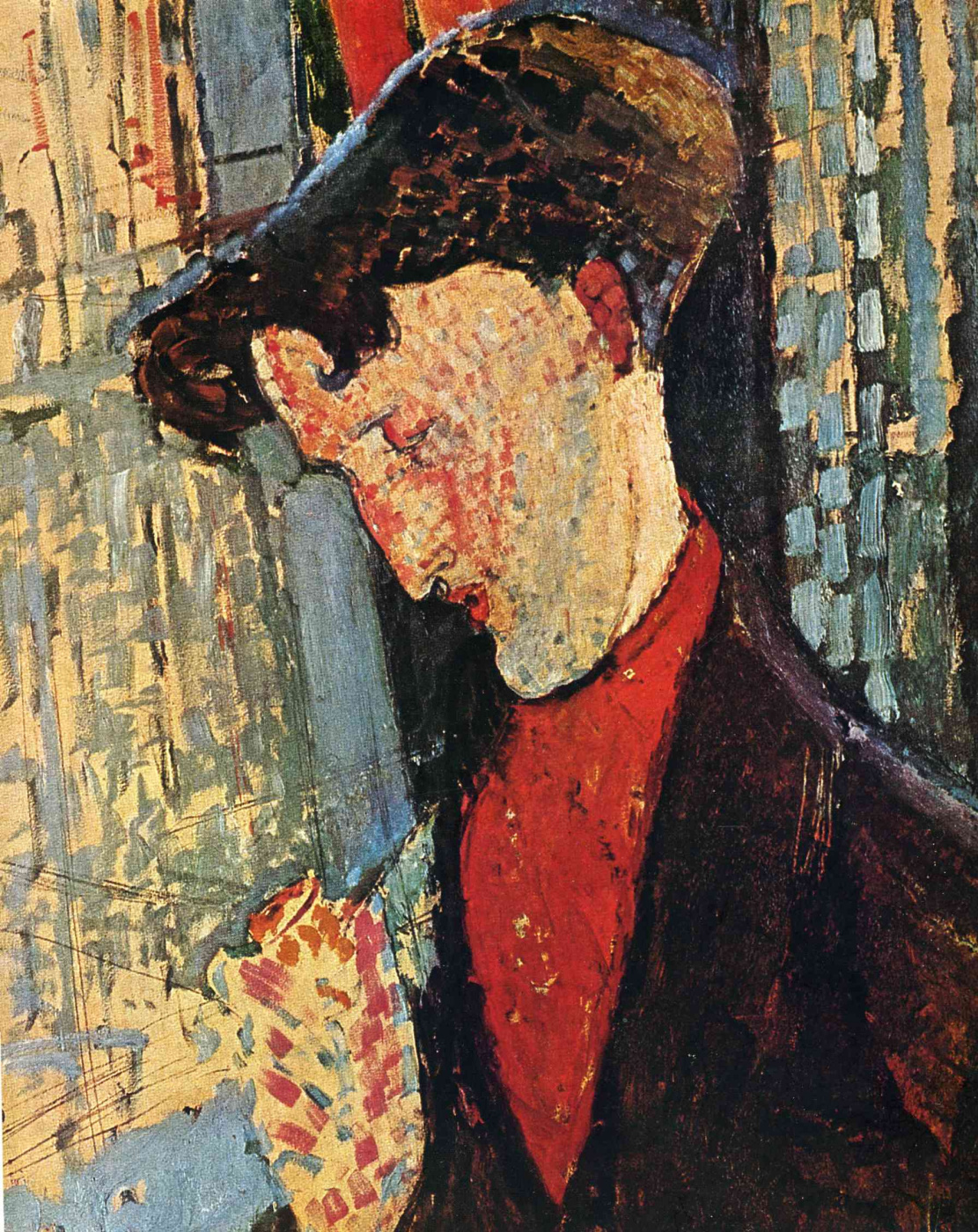 Amedeo Modigliani. Portrait Of Frank Haviland Bertie