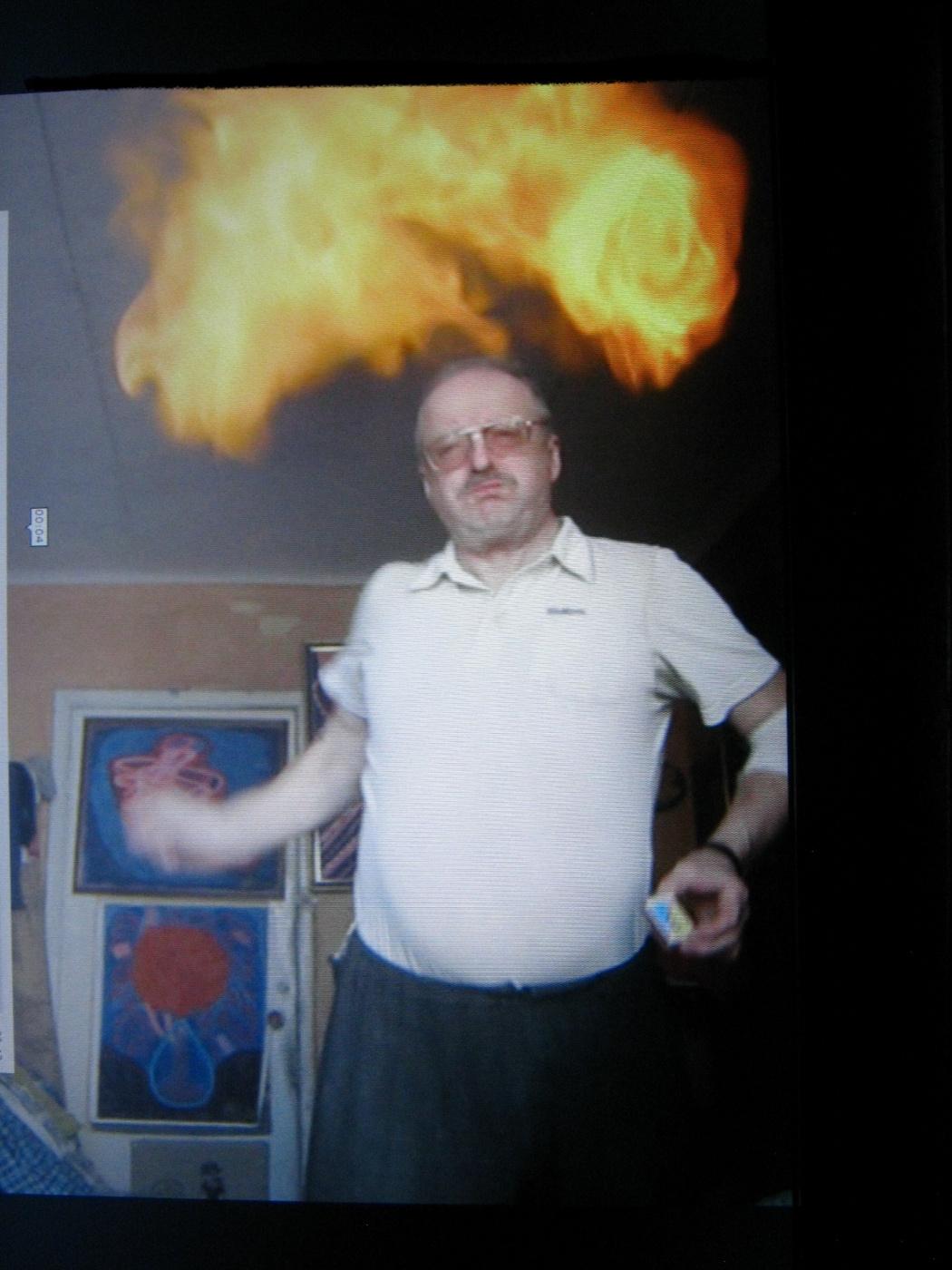 """Alexey Grishankov (Alegri). """"Eruption"""""""