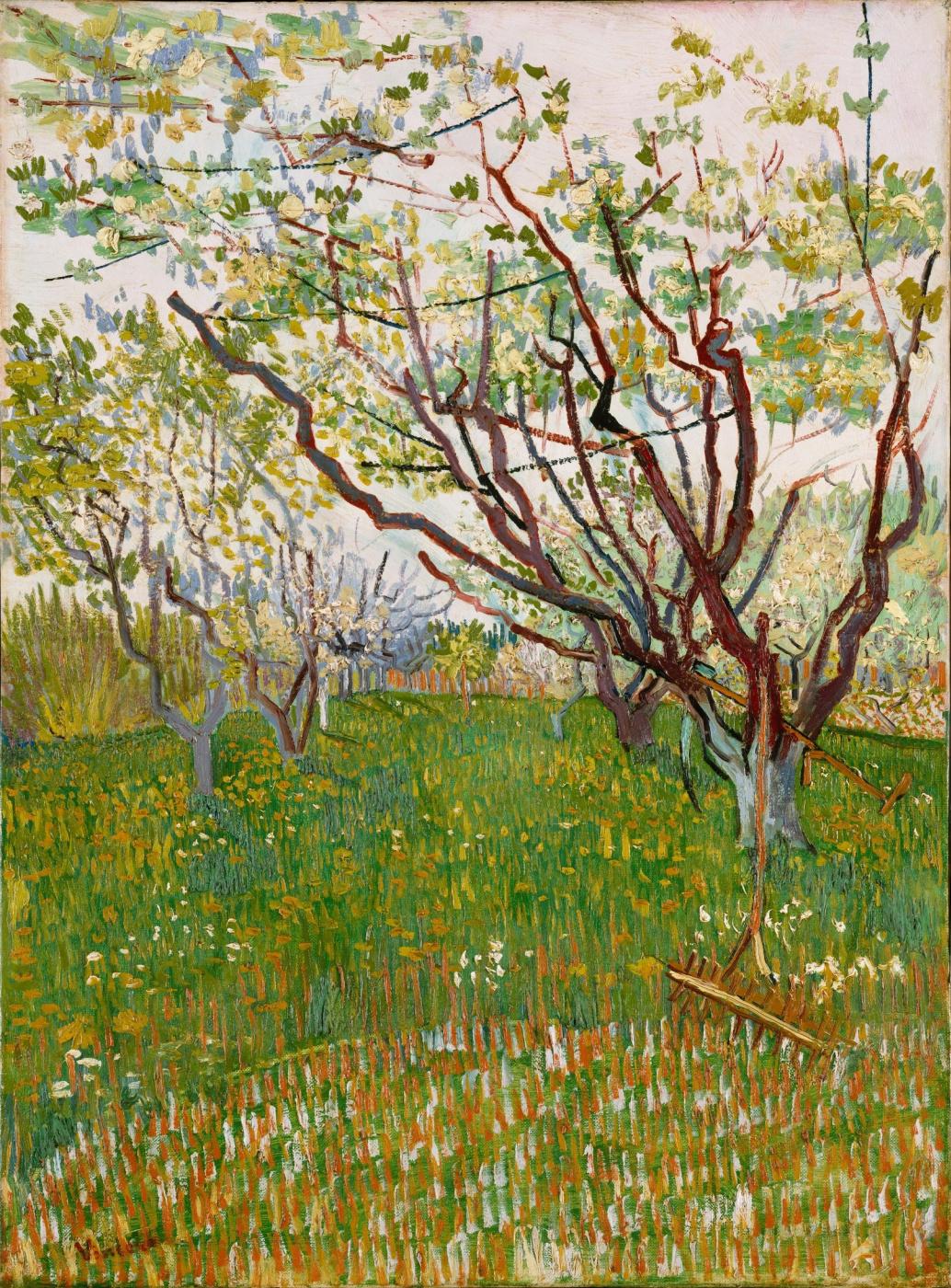 Vincent van Gogh. Orchard in bloom