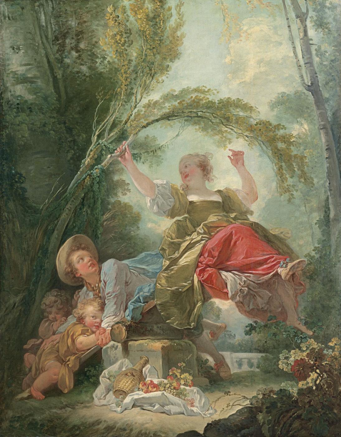 Jean-Honore Fragonard. 1Качели