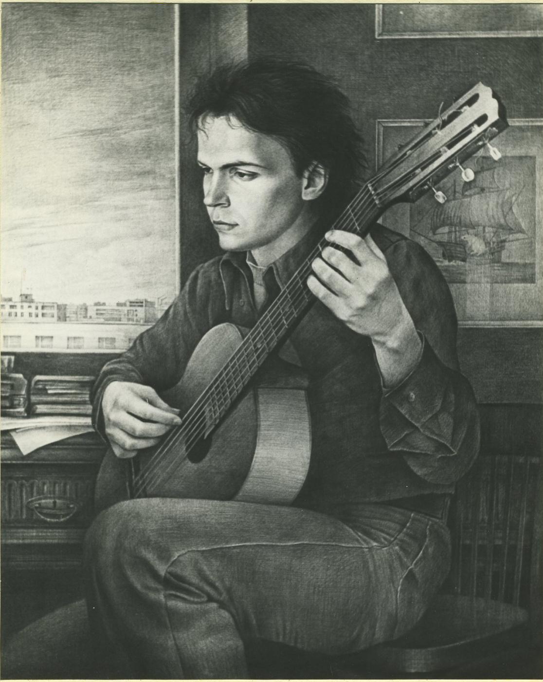 Alexander Vasilyevich Lozenko. Composer Nikita Koshkin