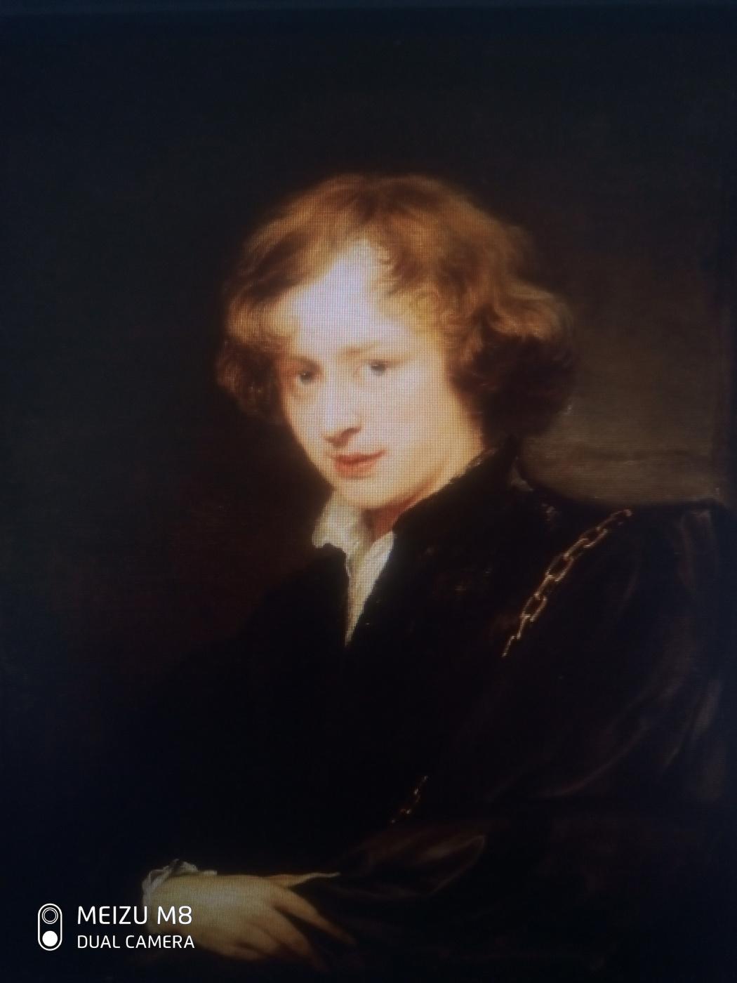 Anastasia $? * + / Vasilyevna. Zamurueva. Anthony van Dyck