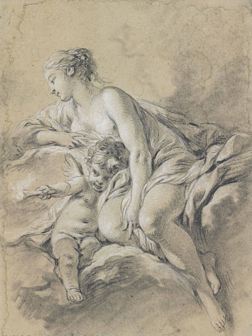 Francois Boucher. Aurora and Kefal