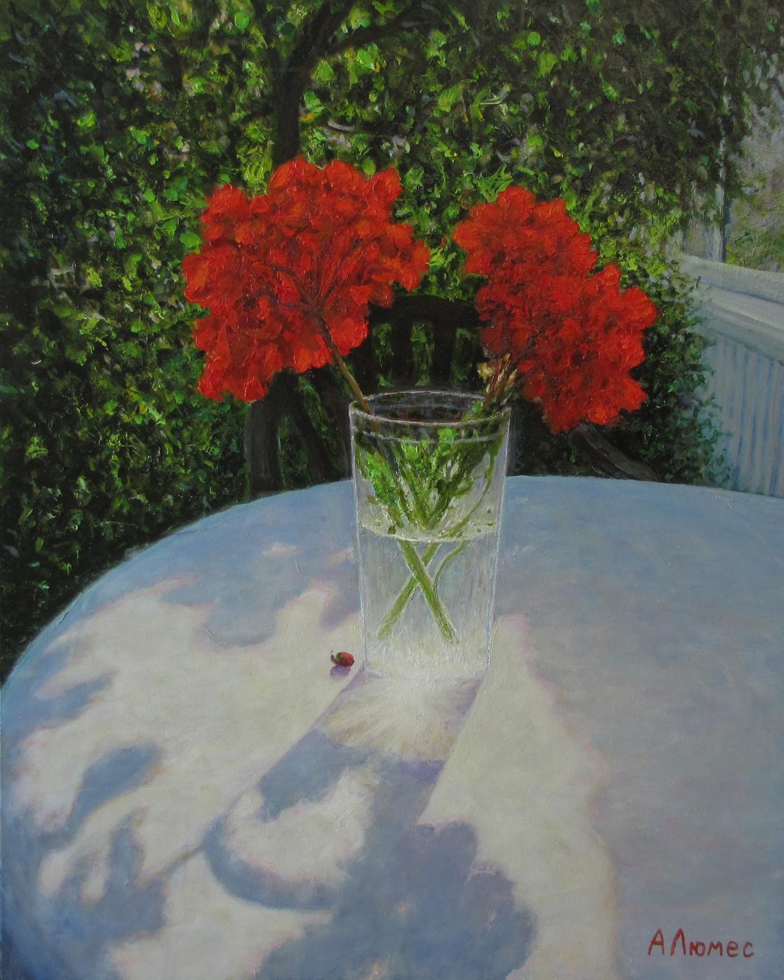 Andrew Lumez. Neighbor geranium
