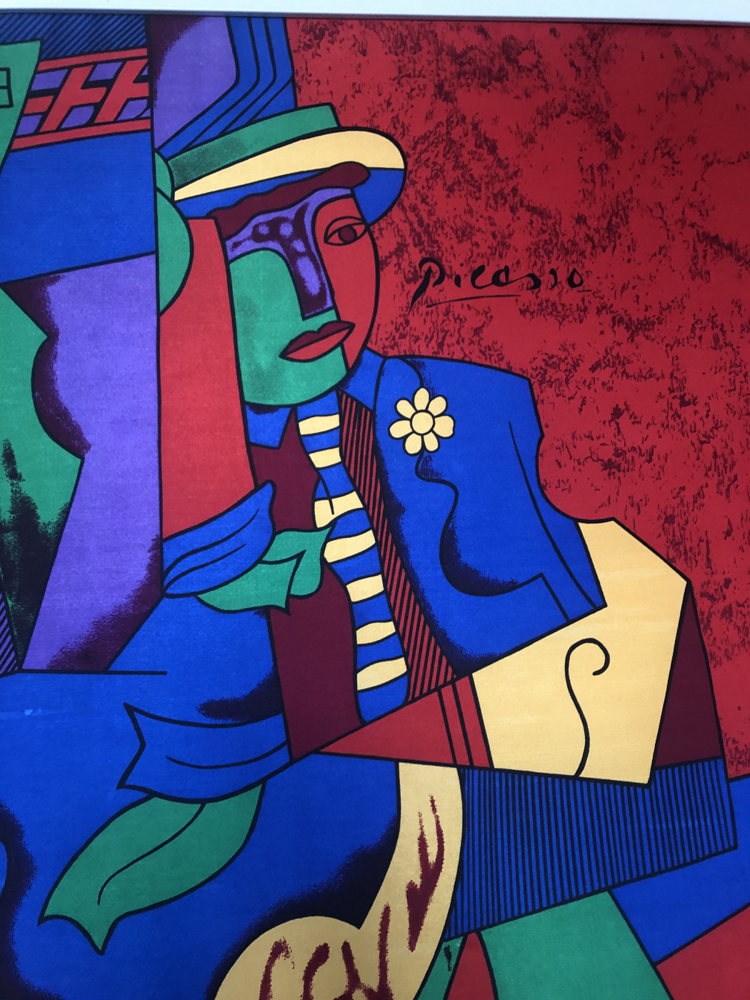 Helena. Copy of the painting by Pablo Picasso