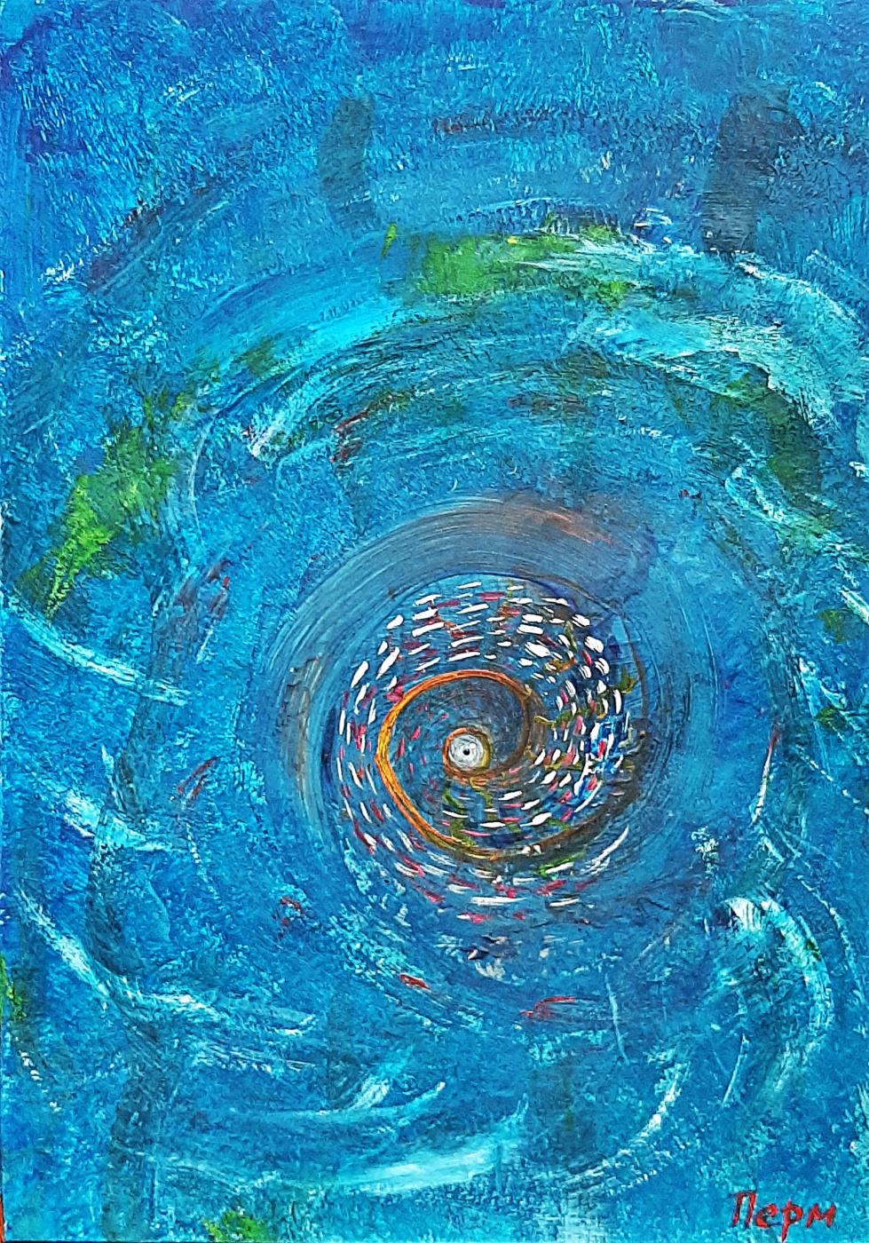 Alexey Kazakov. The alluring eye of the ocean maelstrom