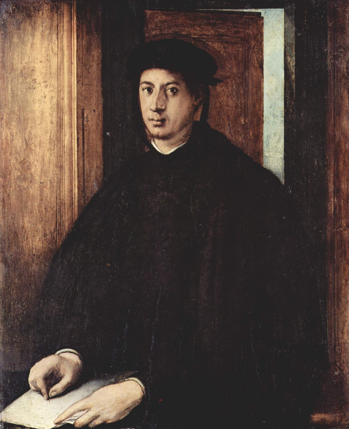 Jacopo Pontormo. Portrait of Alessandro Medici
