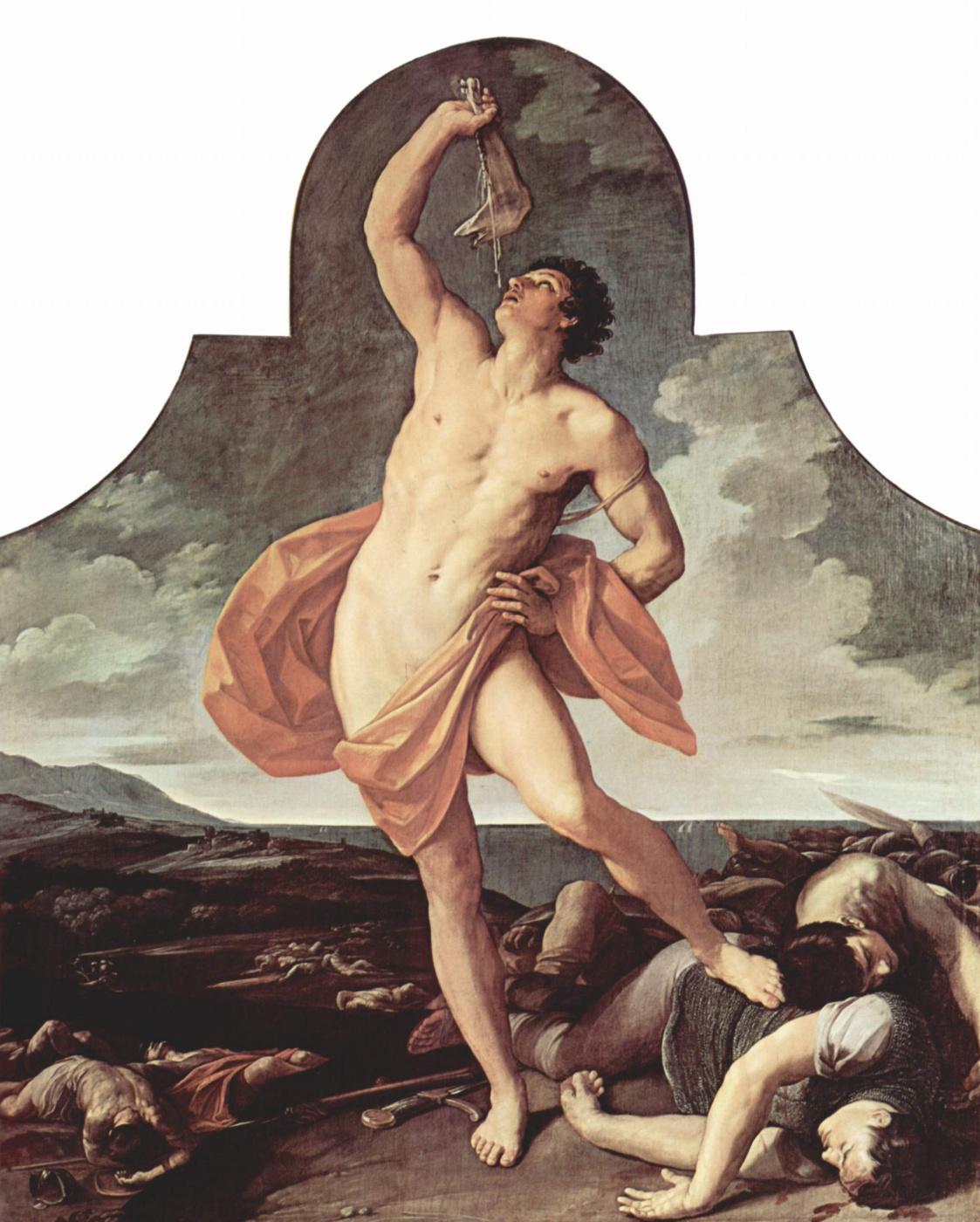 Guido Reni. Samson celebrates his victory