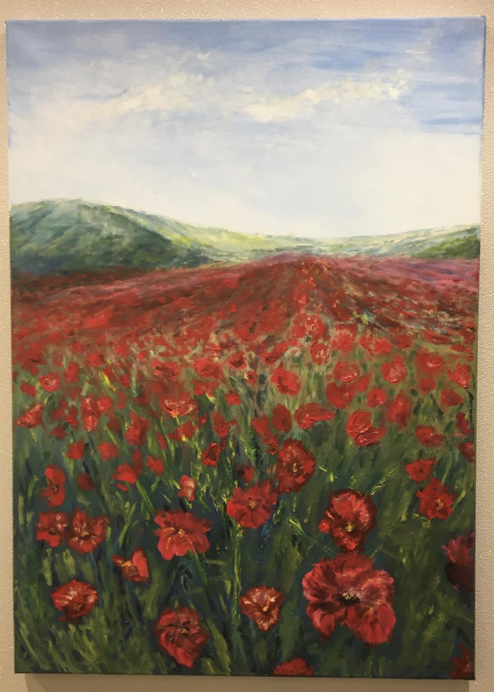 Mihails (Mikhail) Valentinovich Ribenko (Rybenko). Poppies of Kyrgyzstan