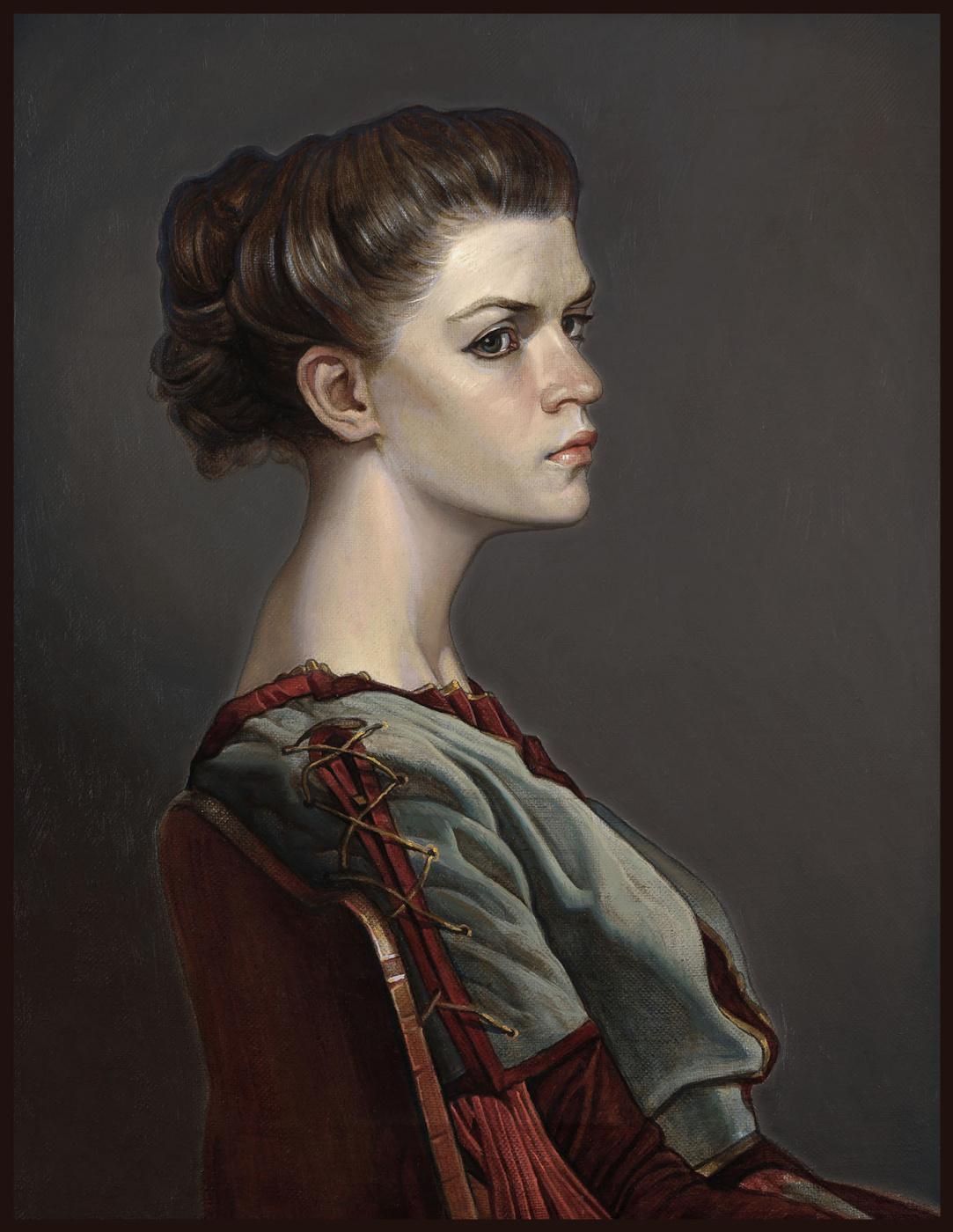 Sushienok64@mail.ru Михайлович Сушенок Игорь. Girl in a renaissance dress.