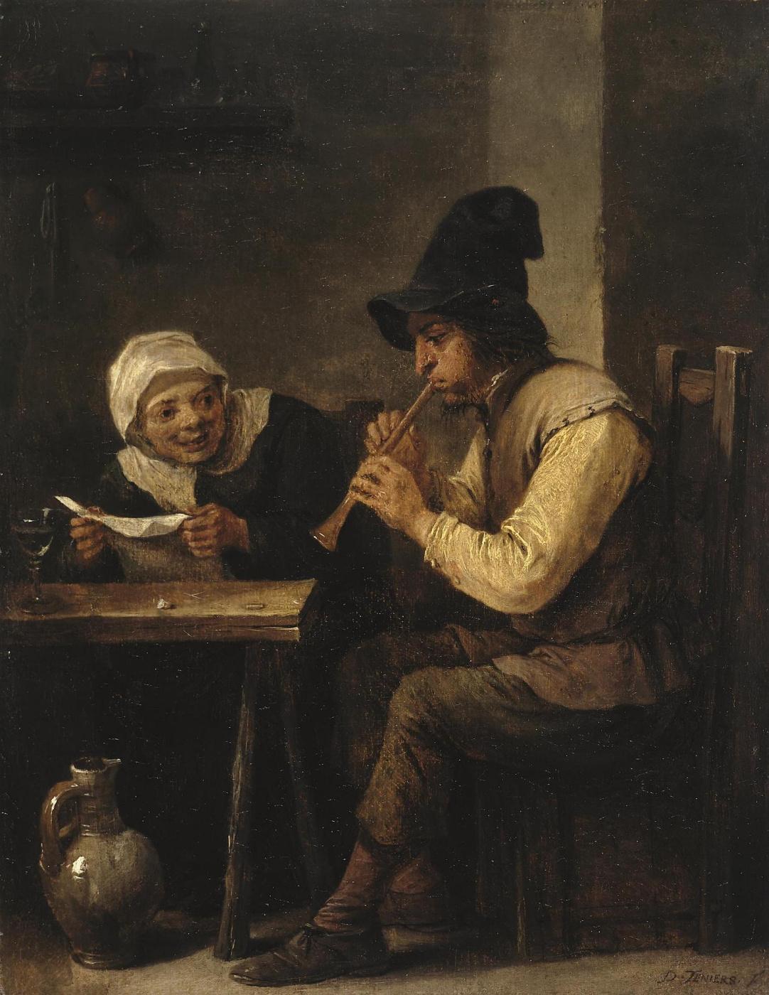 David Teniers the Younger. Duet