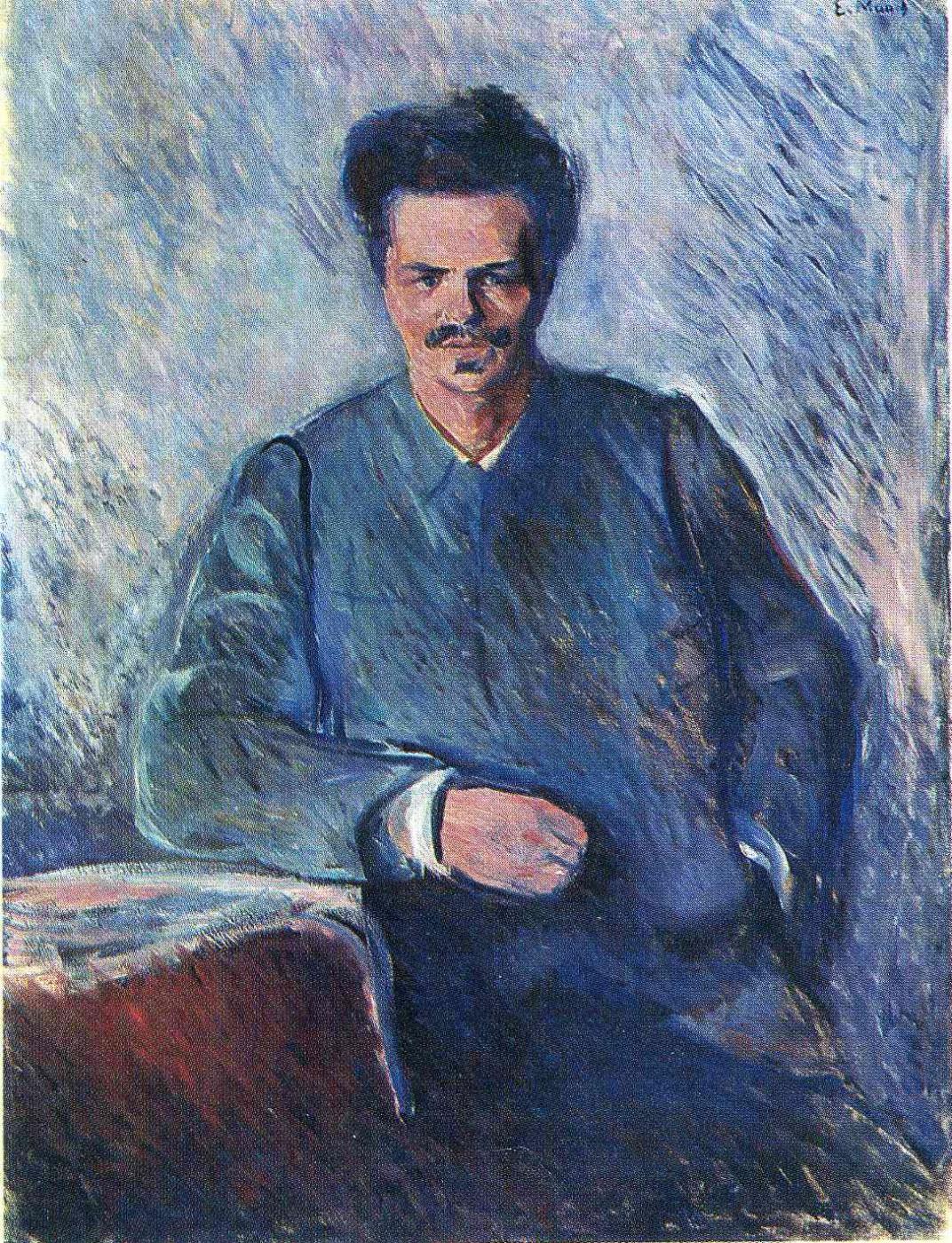 Edward Munch. August Strindberg
