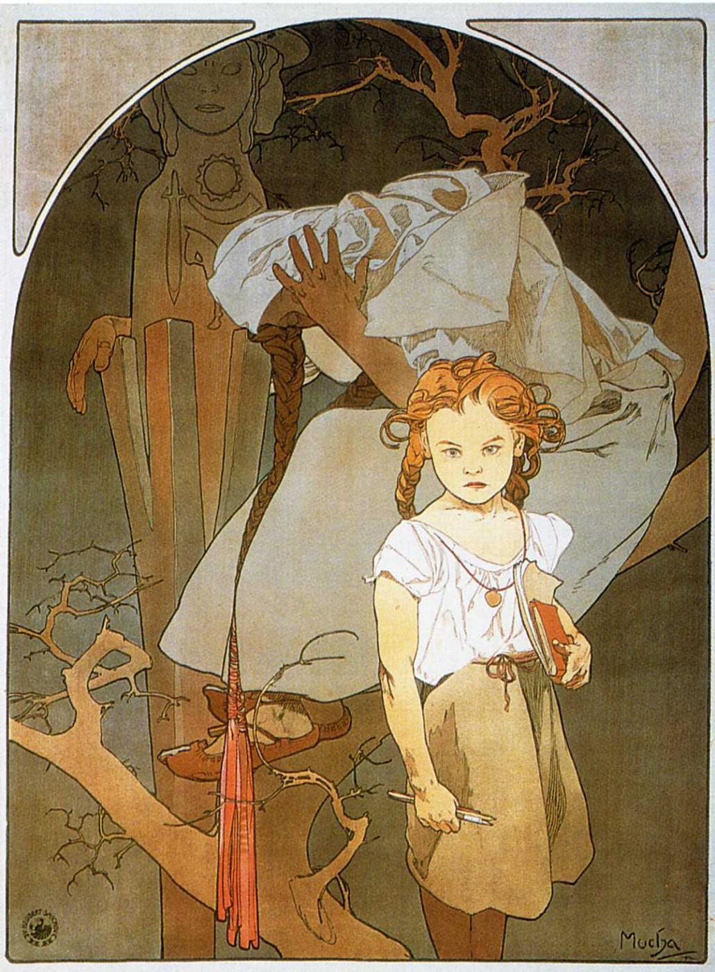 Alfons Mucha. Lottery of national unity