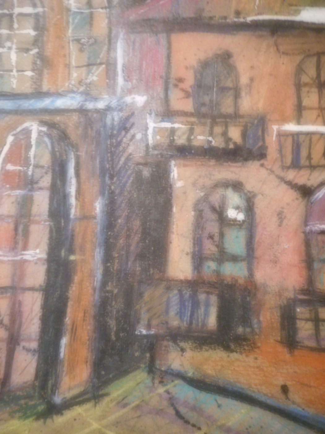 Nino Archilovna Givishvili. From the City,street,house.