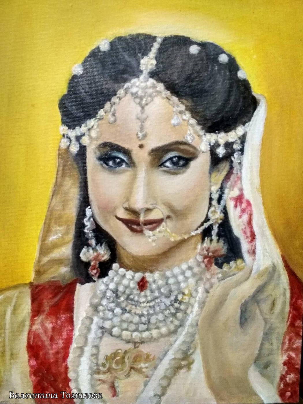 Valentina Tomilova. Goddess Lakshmi