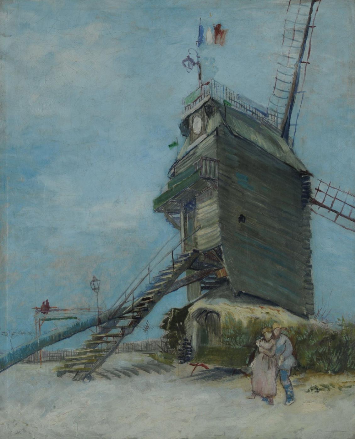 Vincent van Gogh. Windmill
