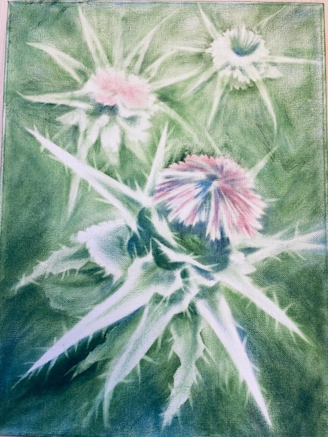 "Igor Vladi Kuznetsov. Sagittarius. Series ""Flowers - Messengers of the Universe"""