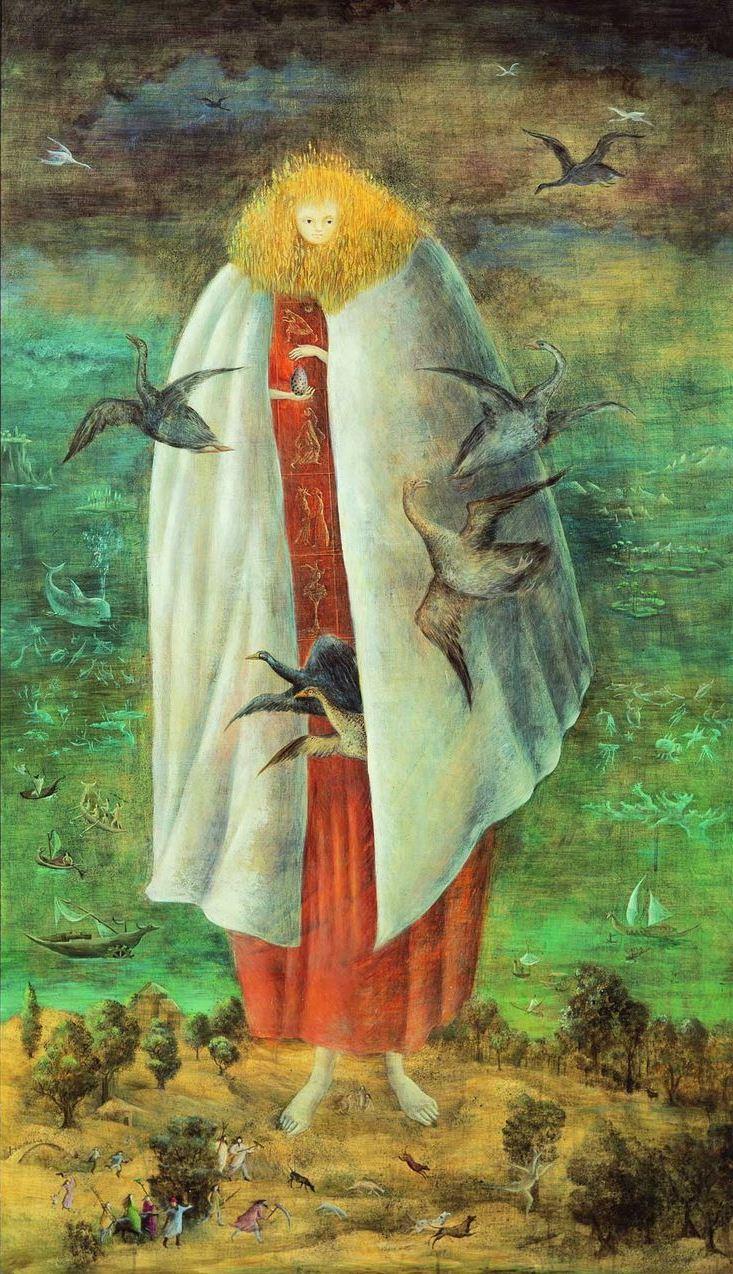 Леонора Каррингтон. Великанша (Хранительница яйца)