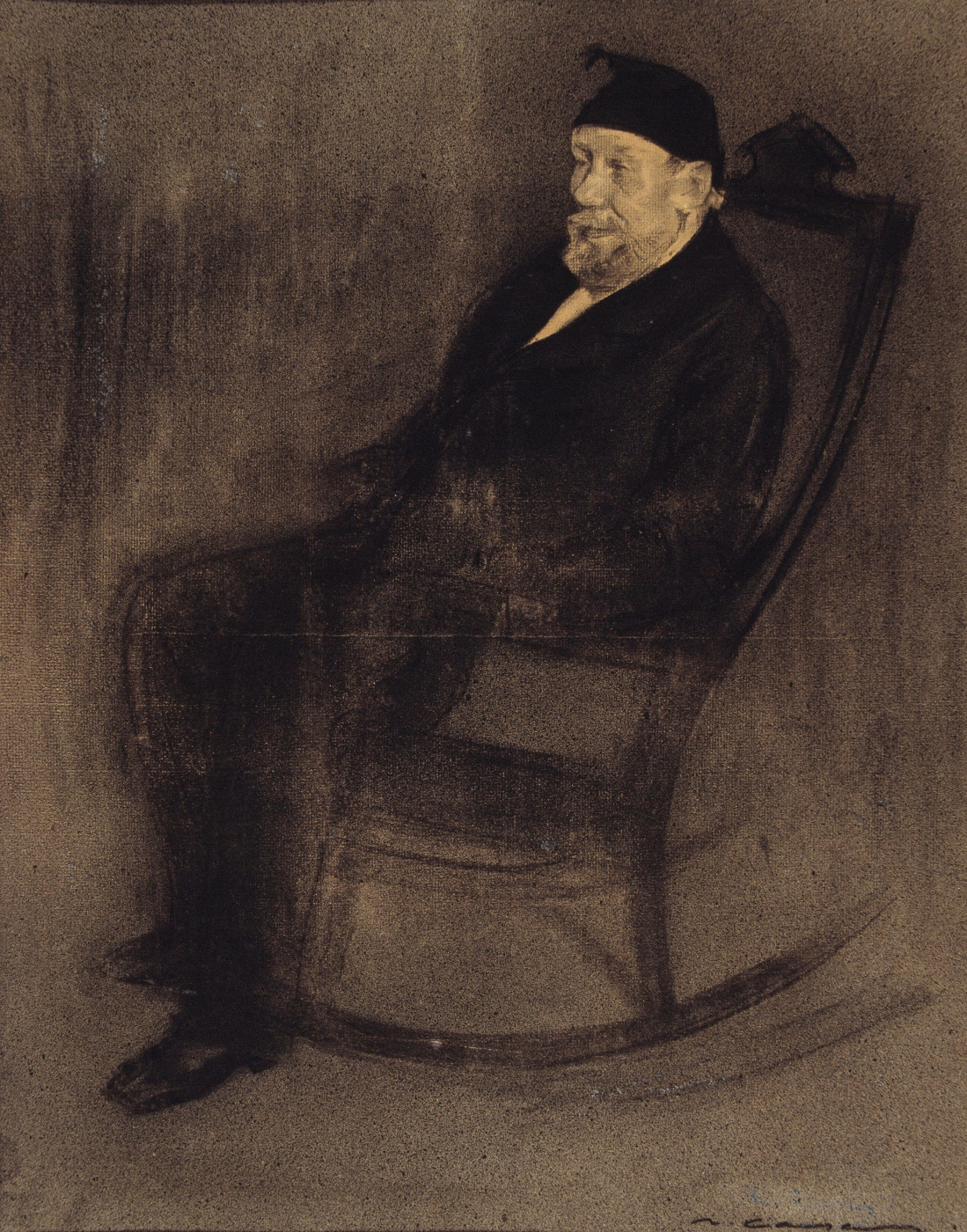Ramon Casas i Carbó. Portrait of Joan Manier Flacker