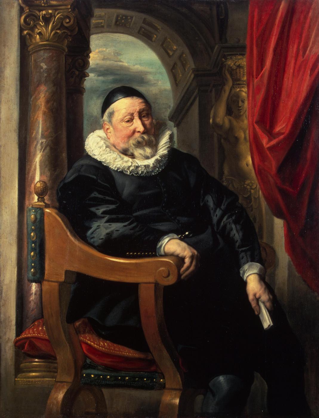 Jakob Jordaens. Portrait of an old man.