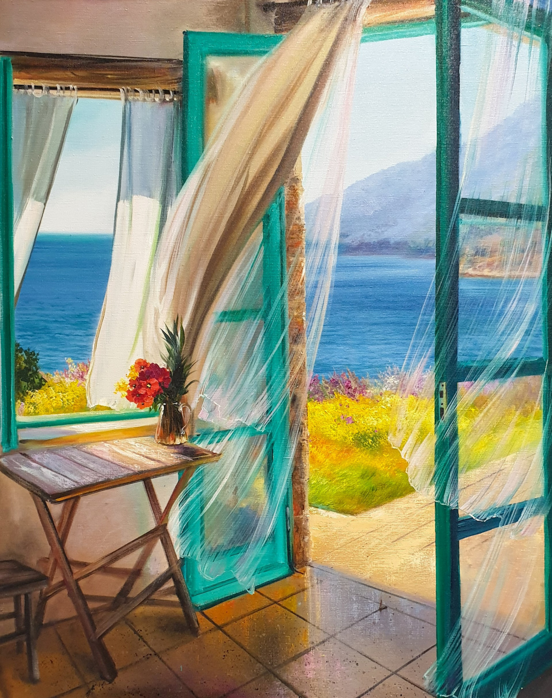 Olga Bazanova. Light breeze