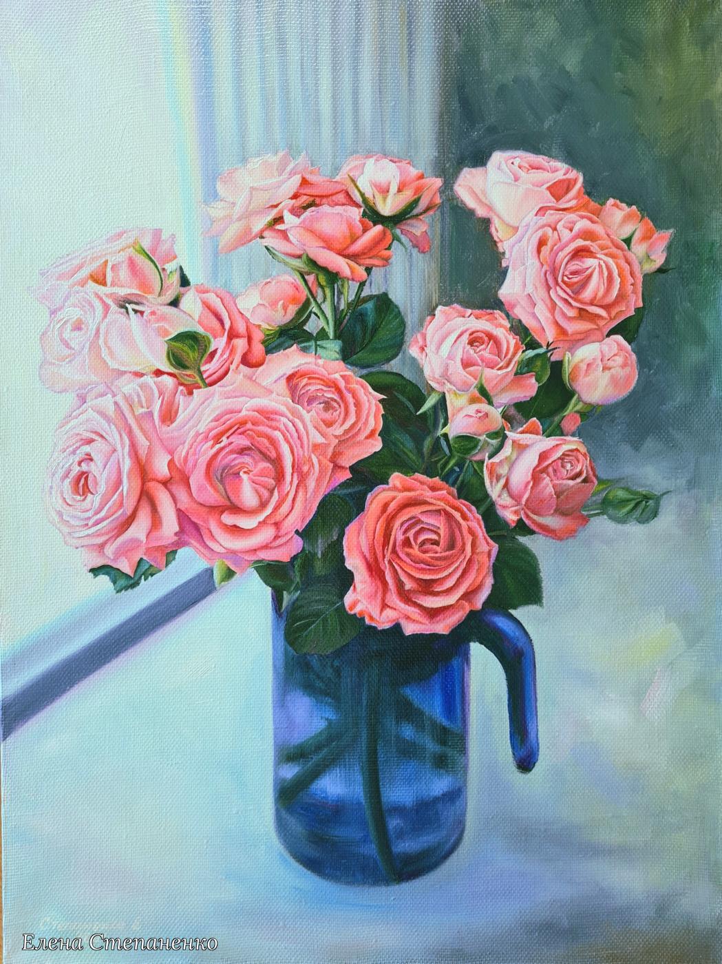 Elena Stepanenko. Roses