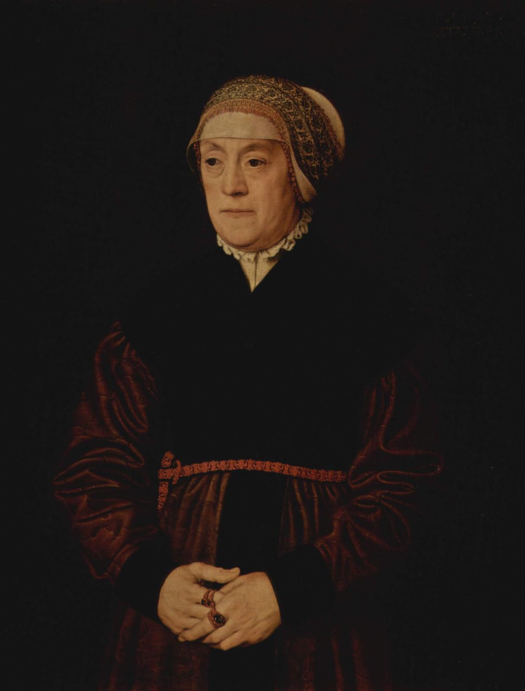 Nicola Neufchatel. Portrait of an elderly lady