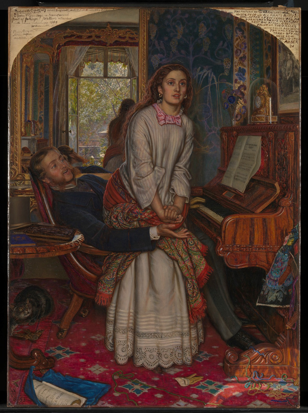 William Holman Hunt. The Awakening Conscience